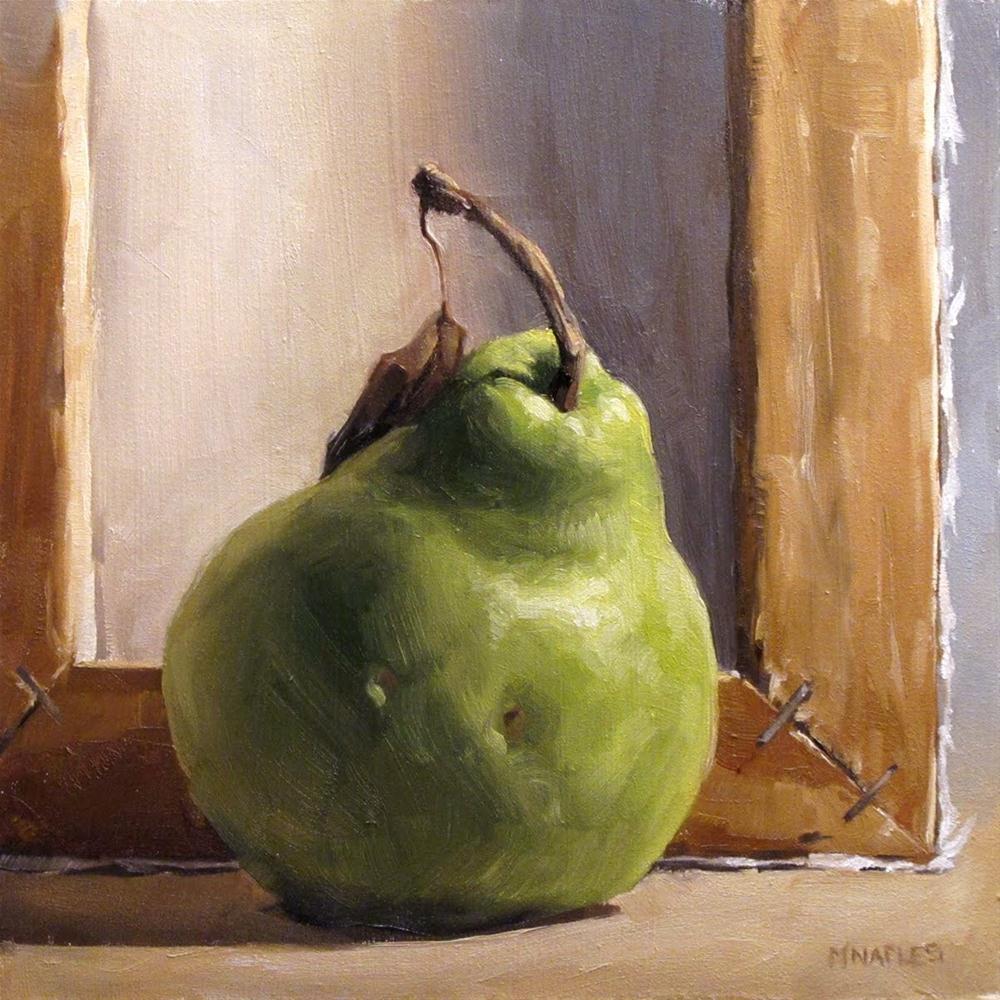 """Behind the Canvas"" original fine art by Michael Naples"