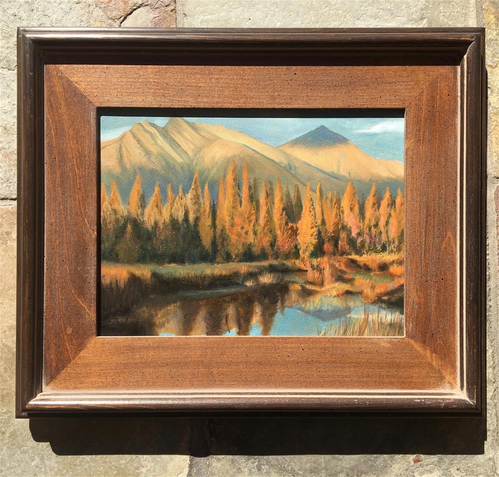 """""""Autumn Daze"""" original fine art by Karen Stitt"""