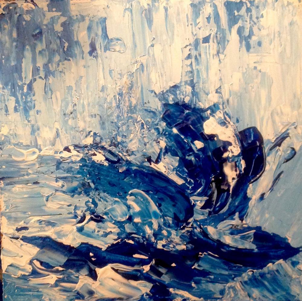 """Rise Uo"" original fine art by Judy Usavage"