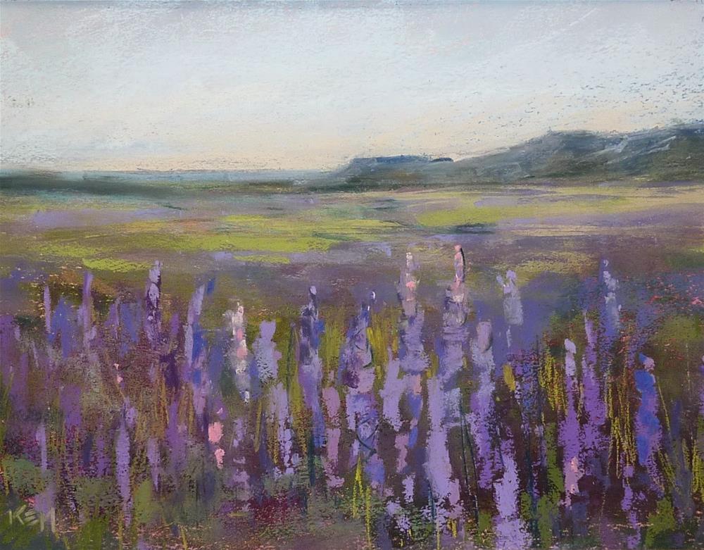 """Why I love Being a Painter"" original fine art by Karen Margulis"
