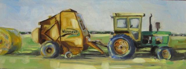 """""""MB'S VERMEER"""" original fine art by Mb Warner"""