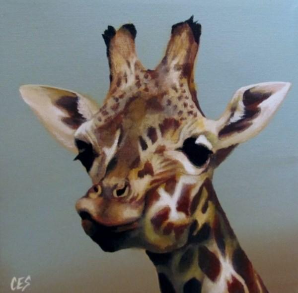 """Look Up Here"" original fine art by ~ces~ Christine E. S. Code"