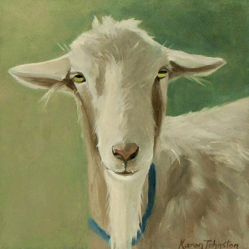 """Mr Smooth"" original fine art by Karen Johnston"