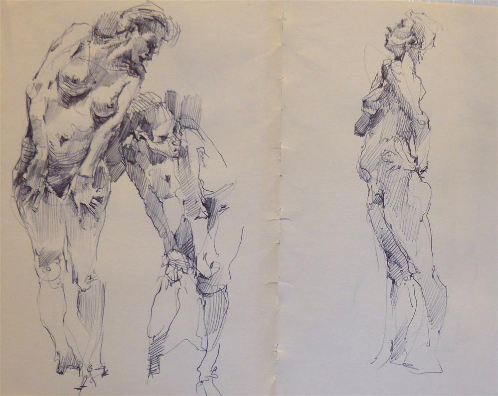 """sketchbook30"" original fine art by Katya Minkina"
