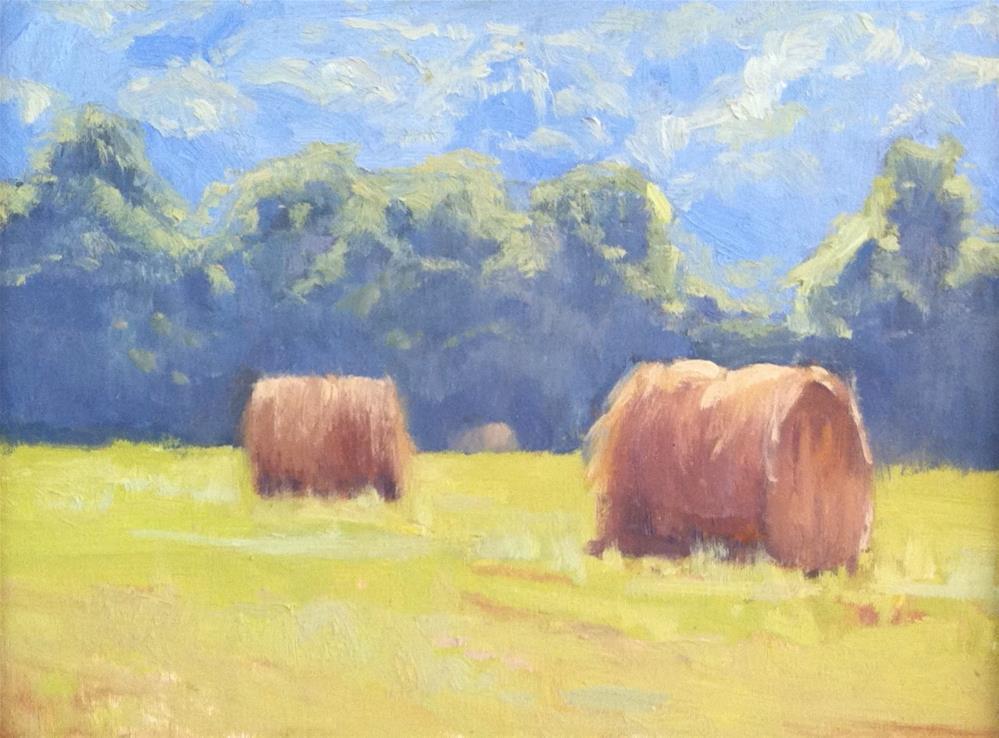 """Tennessee Bales"" original fine art by kay keyes farrar"