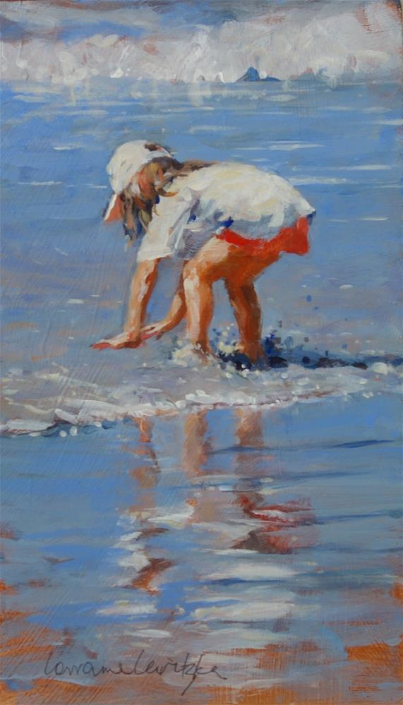 """Waterplay"" original fine art by Lorraine Lewitzka"