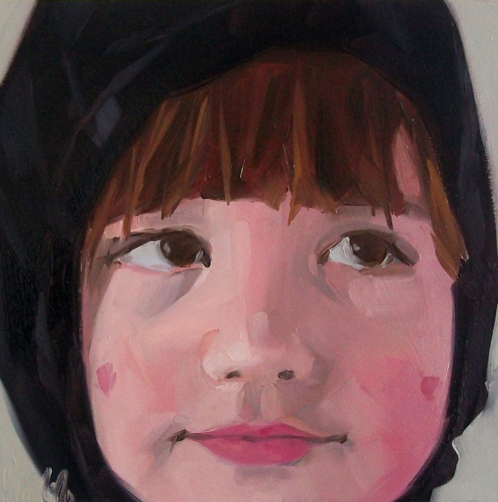 """girl 2"" original fine art by Brandi Bowman"