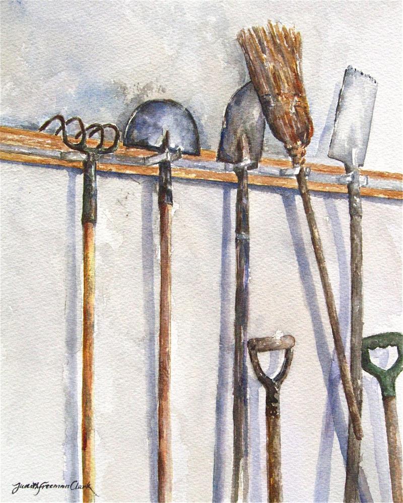 """Sabbath Rest"" original fine art by Judith Freeman Clark"
