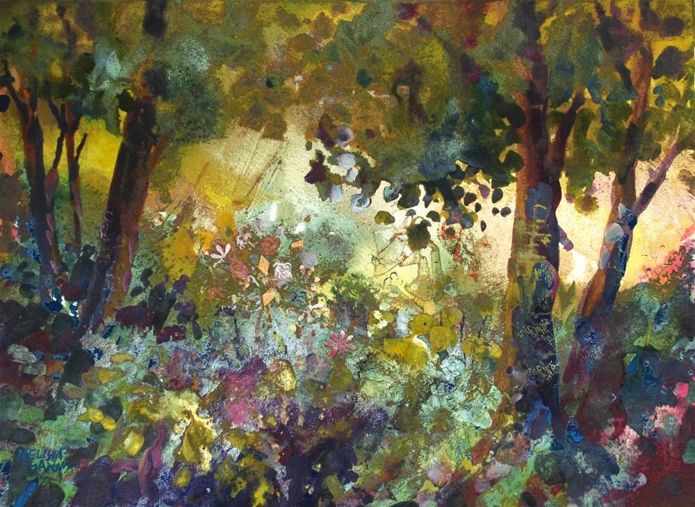 """""""Sparkle Afternoon"""" original fine art by Melissa Gannon"""