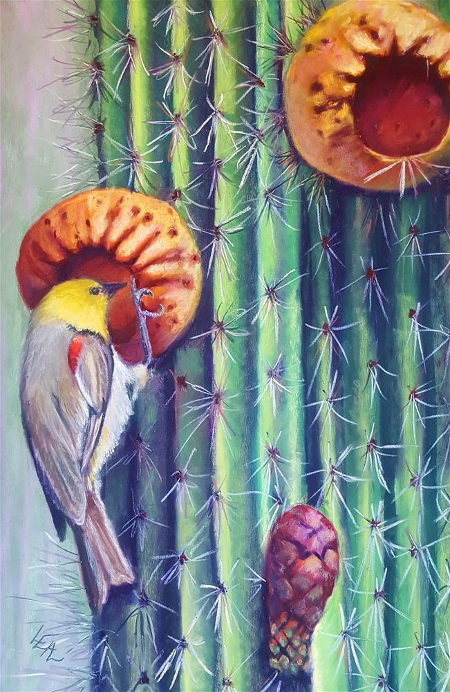 """""""Breakfast Fruit Cups"""" original fine art by Anna Lisa Leal"""