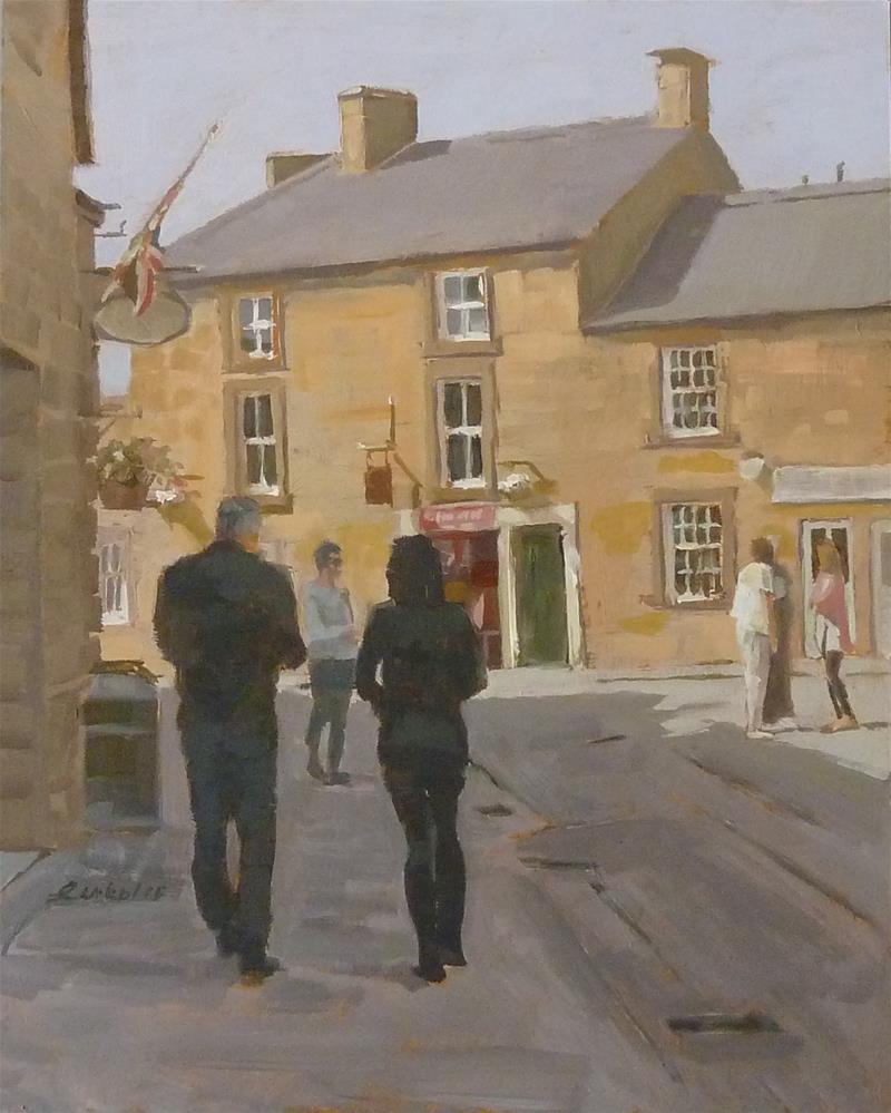 """Peak District - England"" original fine art by Ron Ferkol"