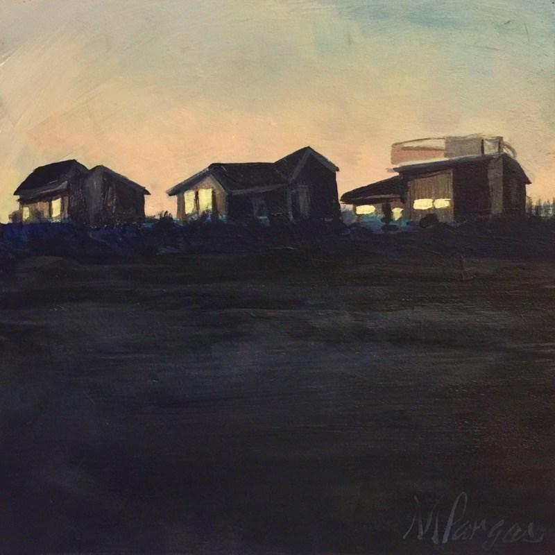"""Look Toward The Light"" original fine art by Mary Pargas"