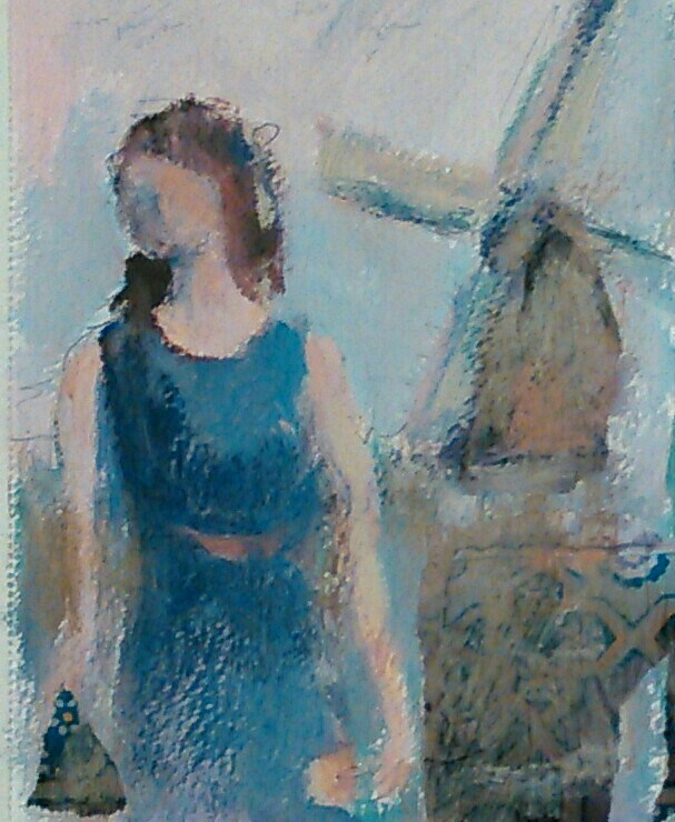 """""""Deja vu"""" original fine art by Ann Rudd"""