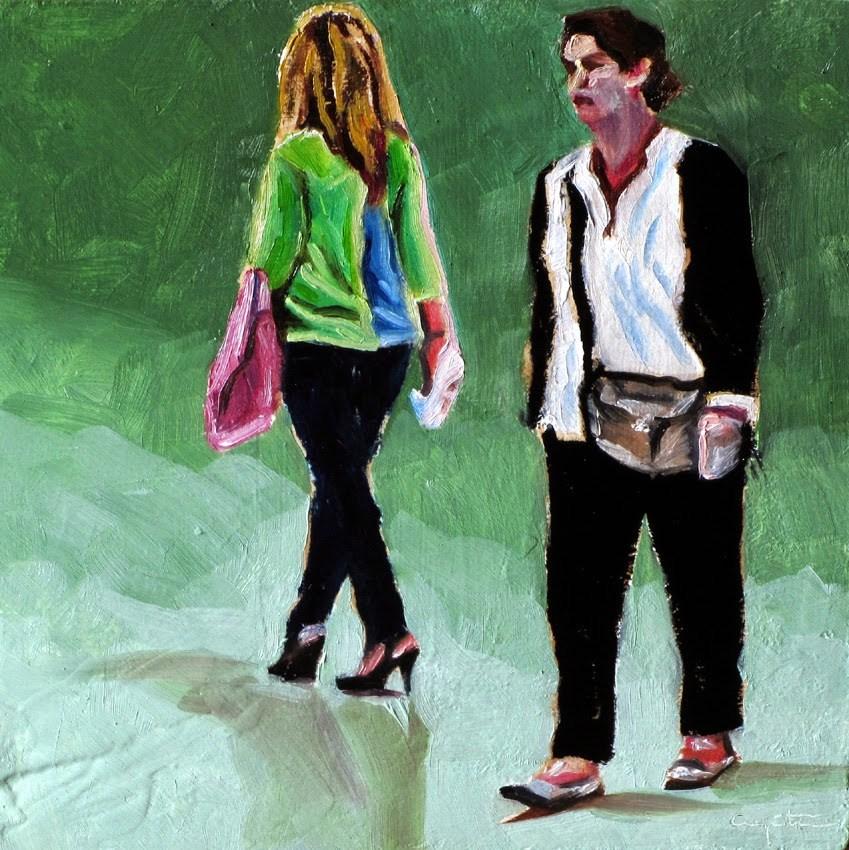 """A lo suyo"" original fine art by Eduardo Carpintero"