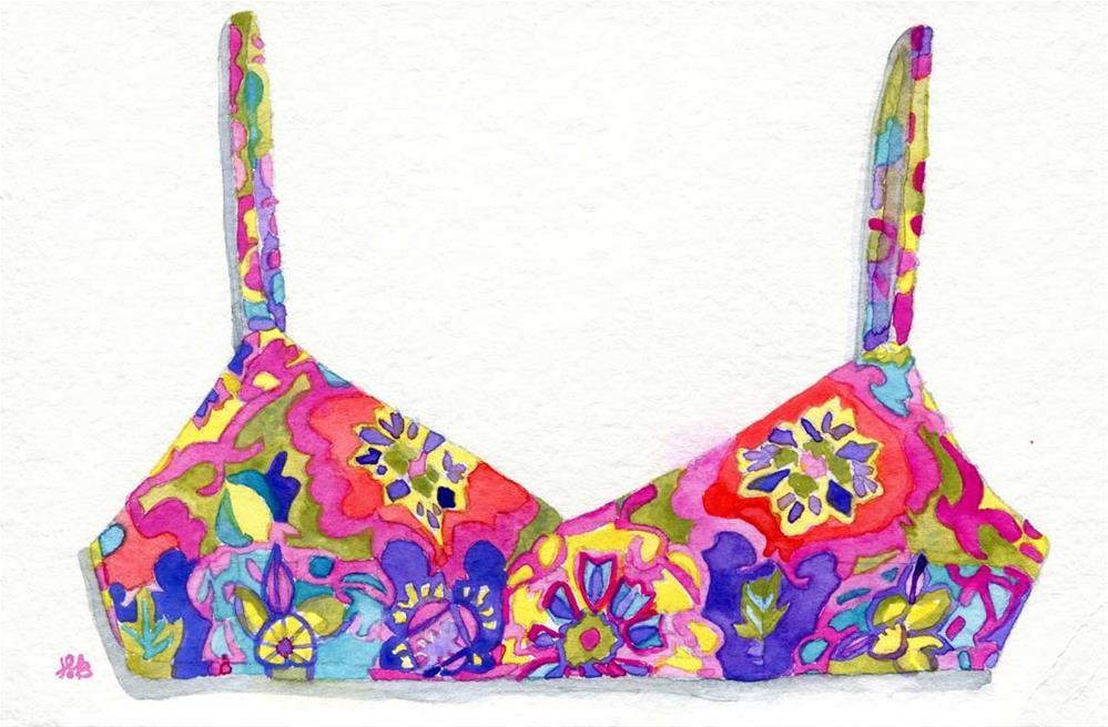 """""""Trippy"""" original fine art by Heather Bennett"""