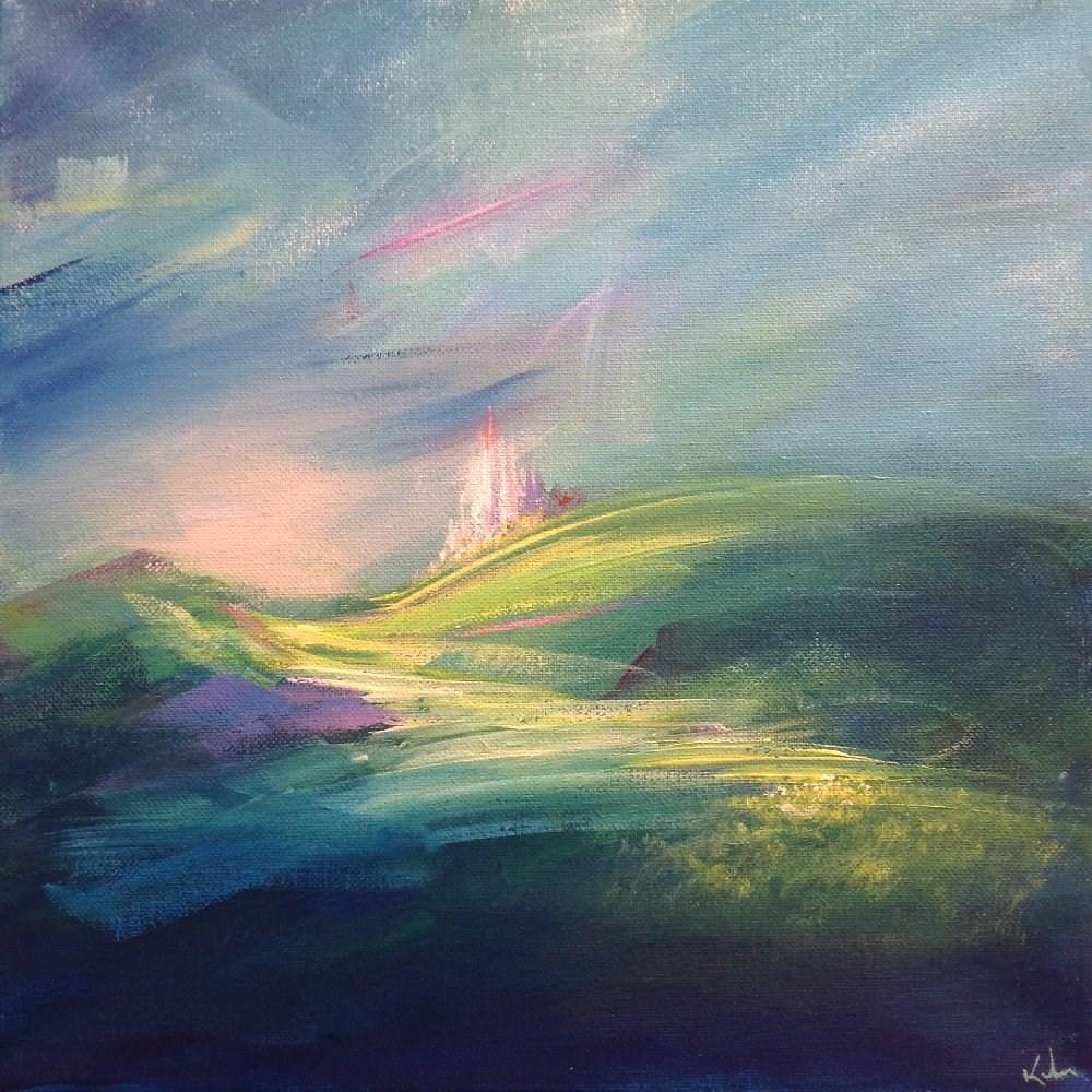 """A Night's Dream"" original fine art by David Kuhn"