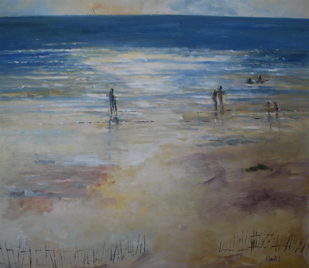 """Last chance"" original fine art by Deborah Harold"