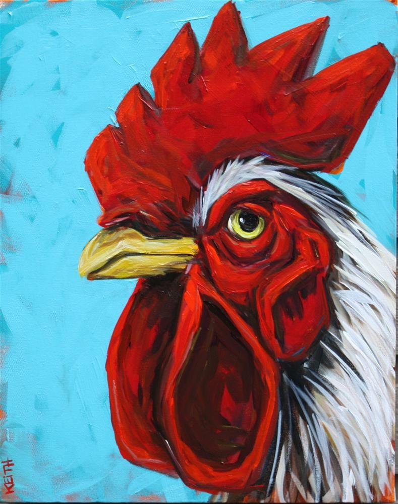 """""""Pedro"""" original fine art by Kandice Keith"""