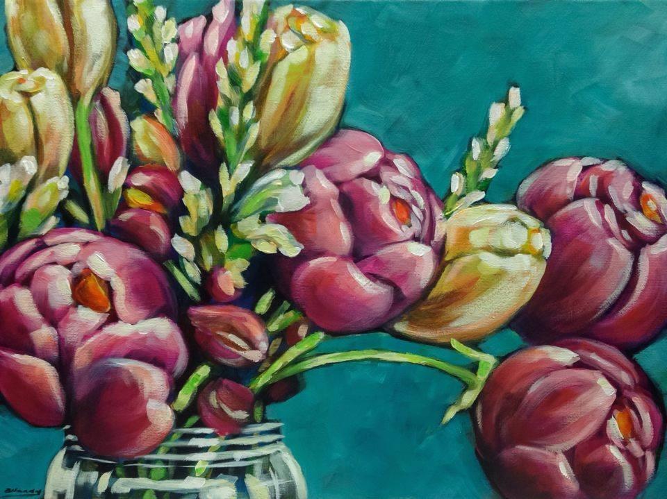 """Enfold Me"" original fine art by Angela Hardy"