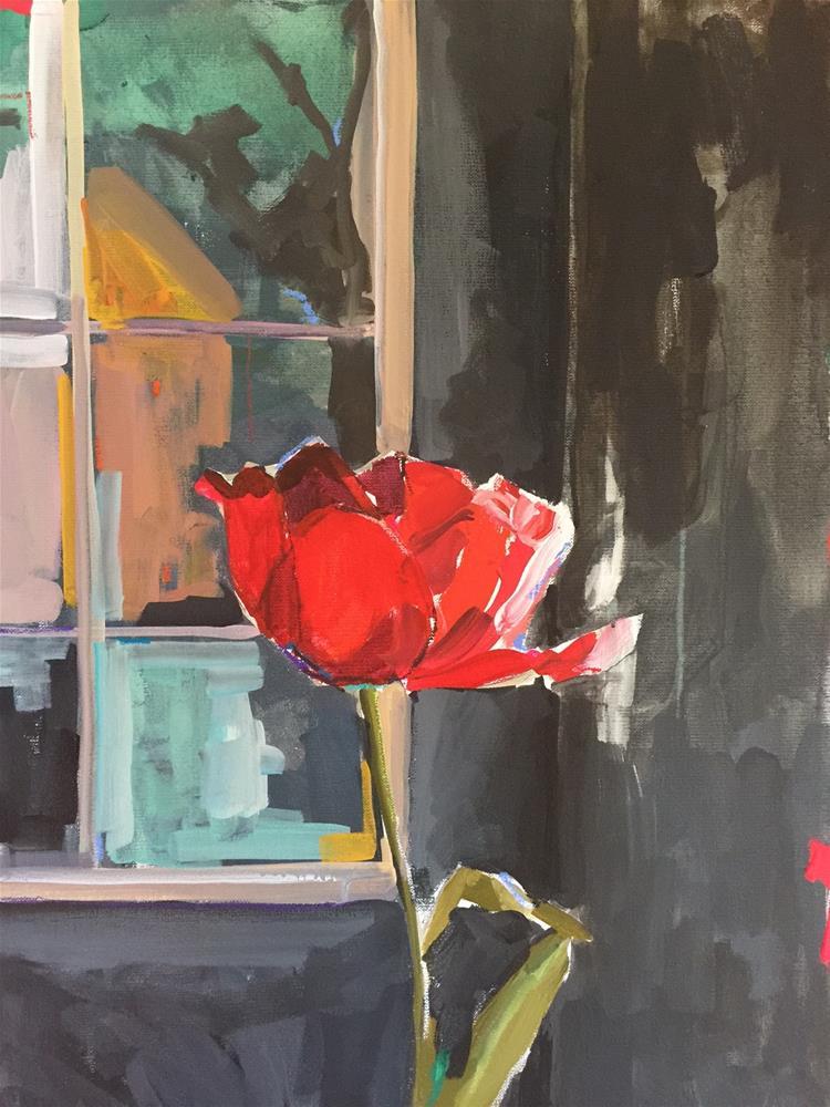 """523 Ms. Independence"" original fine art by Jenny Doh"