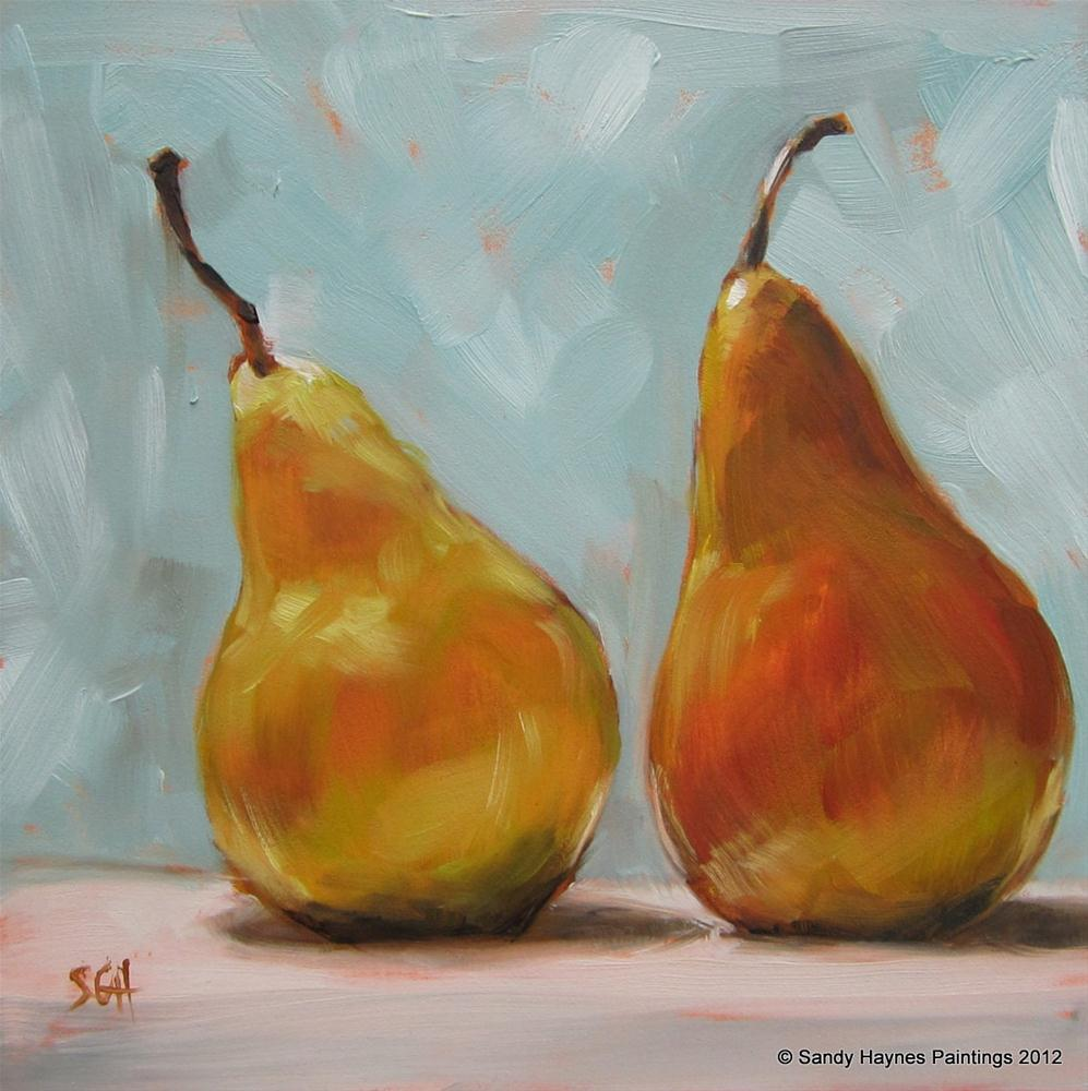 """Twosome"" original fine art by Sandy Haynes"