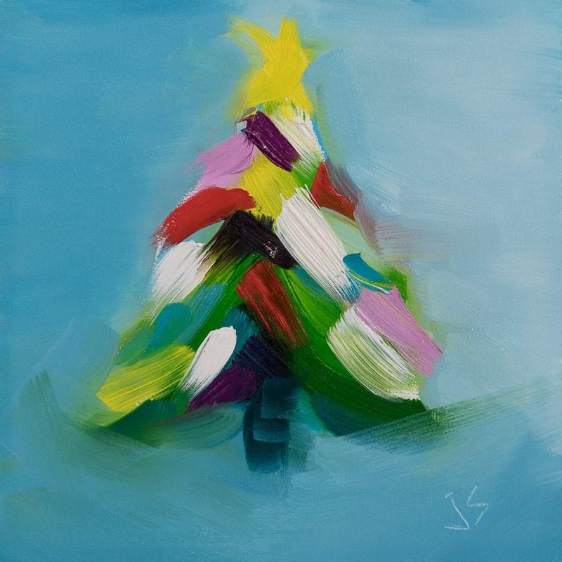"""A Special Gift"" original fine art by Johnna Schelling"