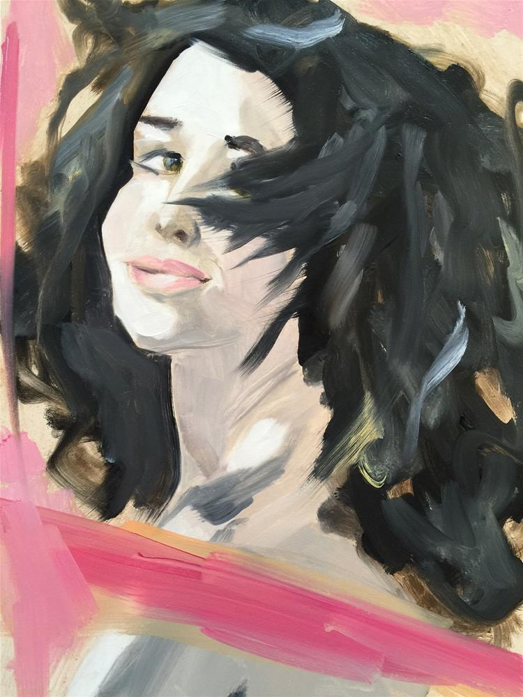 """""""86 That It Can Be Good Again"""" original fine art by Jenny Doh"""