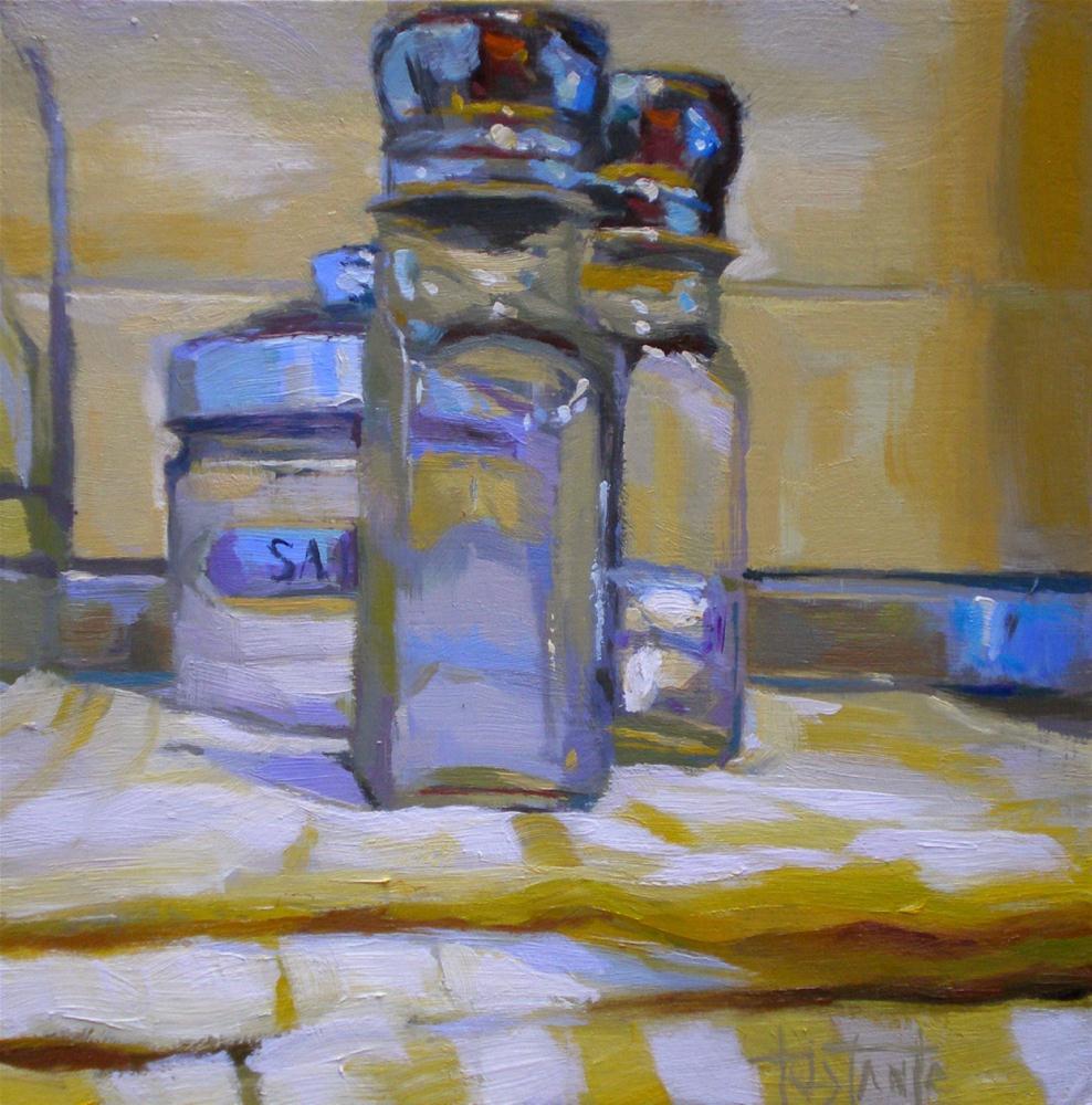 """Saltcellars without salt"" original fine art by Víctor Tristante"