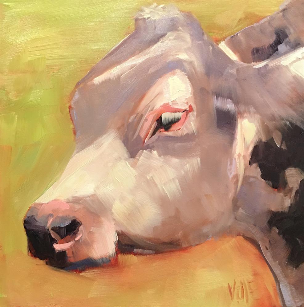 """""""#268 Freddie"""" original fine art by Patty Voje"""