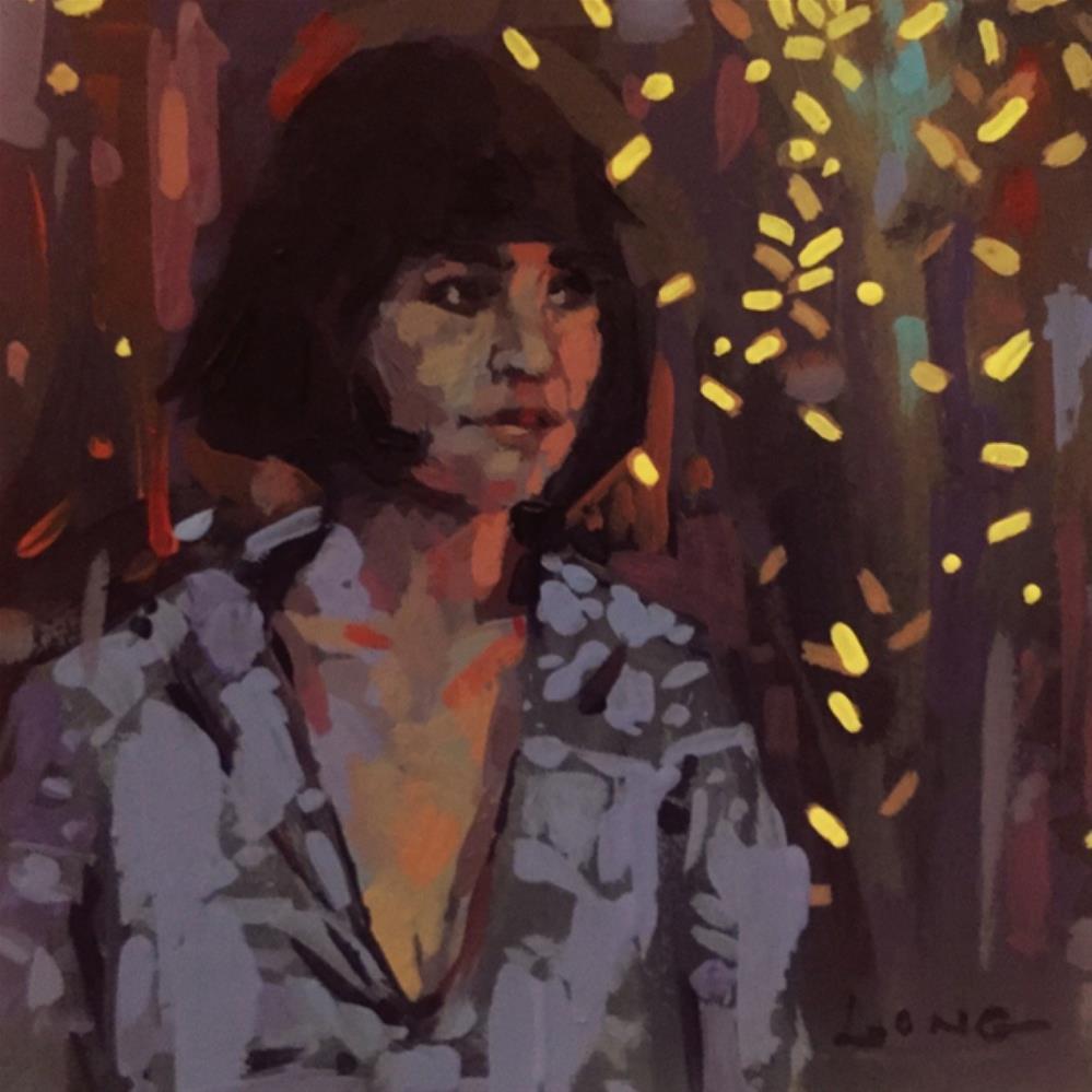 """Alma"" original fine art by Chris Long"