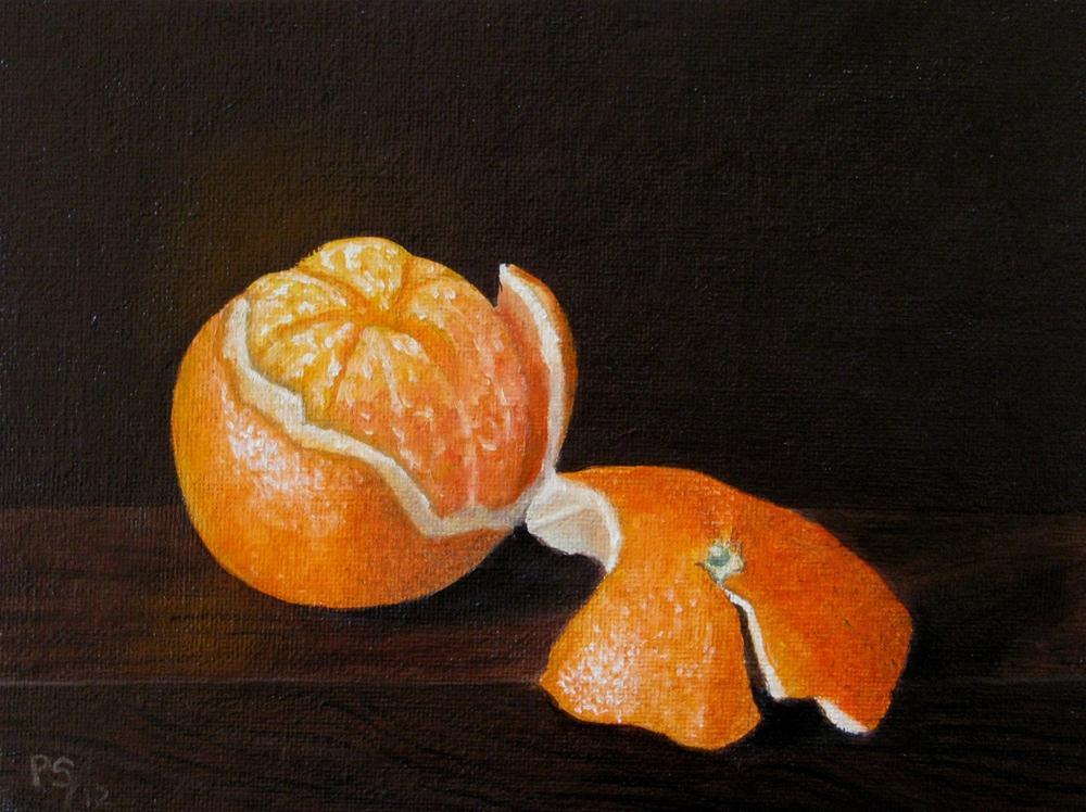 """Naartjie"" original fine art by Pera Schillings"