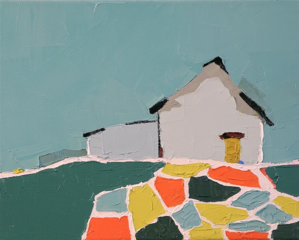 """""""Summer Mosaic"""" original fine art by Donna Walker"""