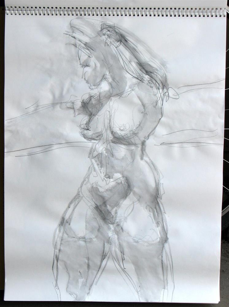 """gesture 6"" original fine art by jeffrey kasbohm"