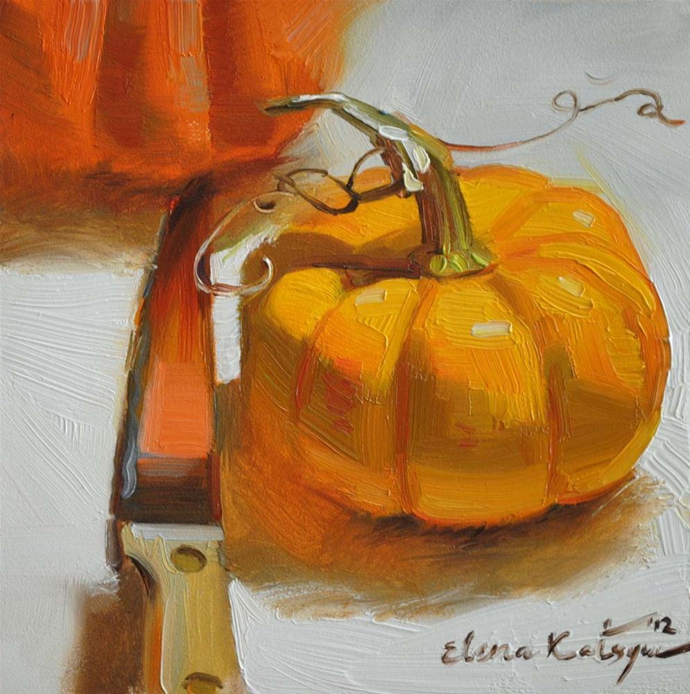 """Gifts of October"" original fine art by Elena Katsyura"