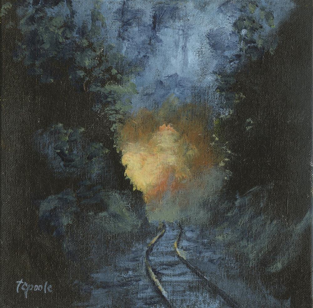 """Phoenix Coming"" original fine art by T.C. Poole"