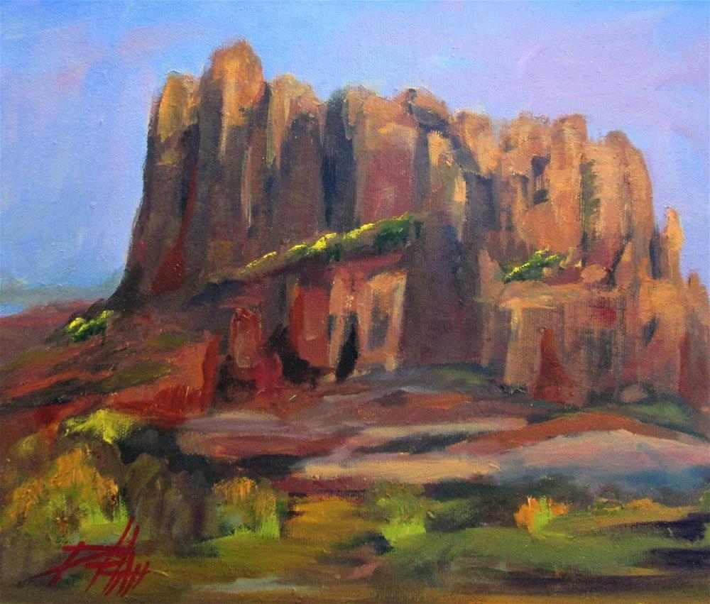 """Bell Rock Sedona"" original fine art by Delilah Smith"