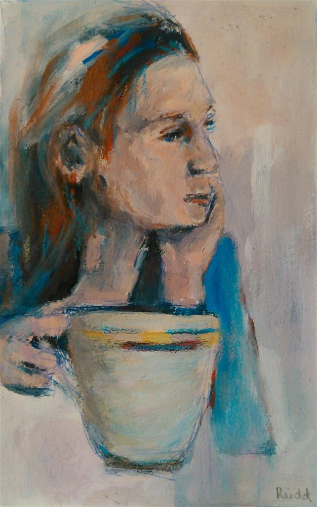 """Quiet Morning"" original fine art by Ann Rudd"