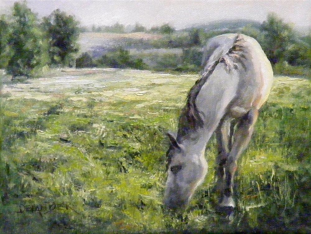 """Early Morning Repose"" original fine art by Diana Delander"