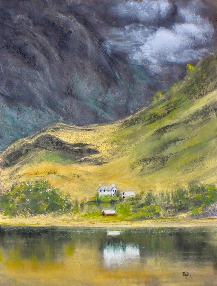 """Western Highlands, Scotland"" original fine art by Judy Rath"