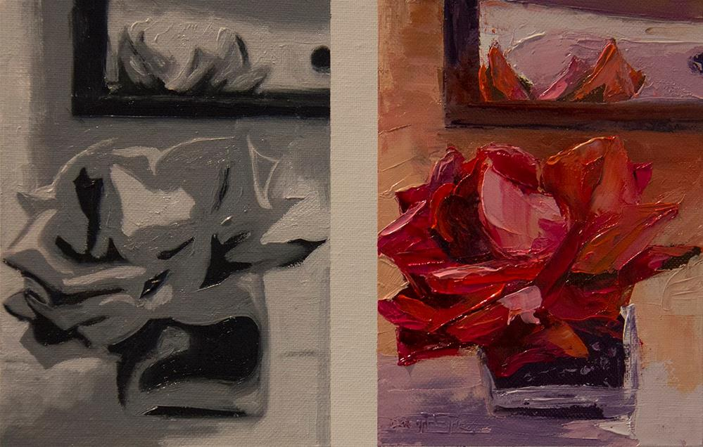 """Scottsdale Rose"" original fine art by Daryl Lyn King"