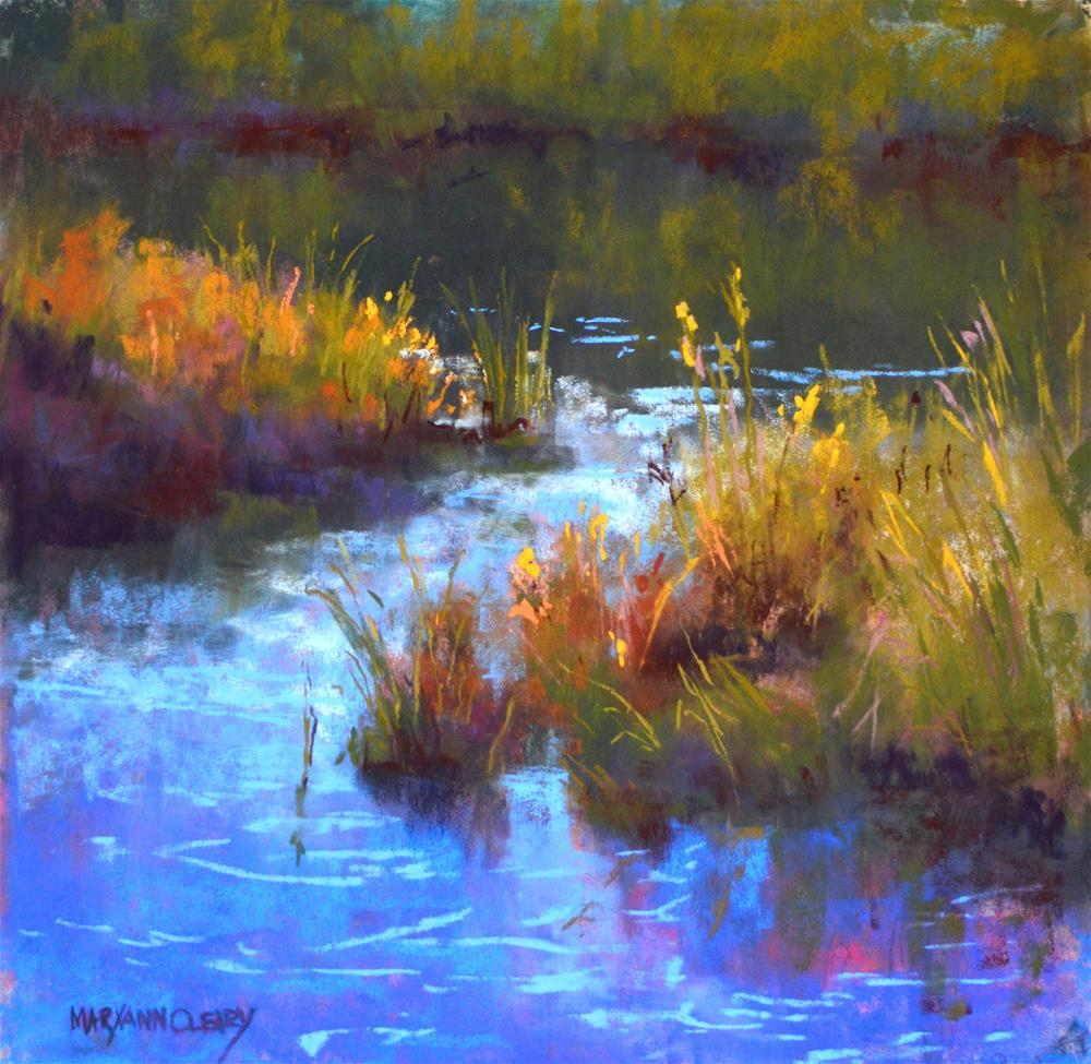 """""""A Peaceful Place"""" original fine art by Maryann Cleary"""