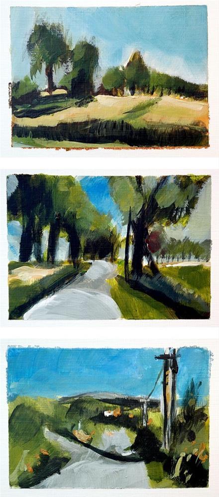 """1776 Quick Painting Exercise Part I"" original fine art by Dietmar Stiller"