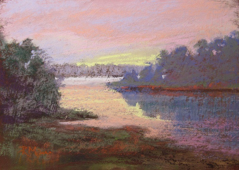 """""""Early Light"""" original fine art by Ruth Mann"""