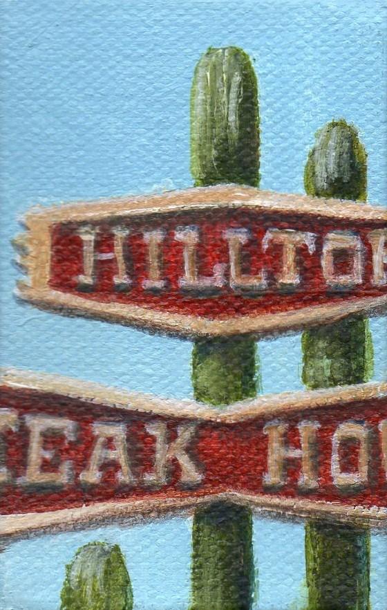 """Hilltop Ornament"" original fine art by Debbie Shirley"