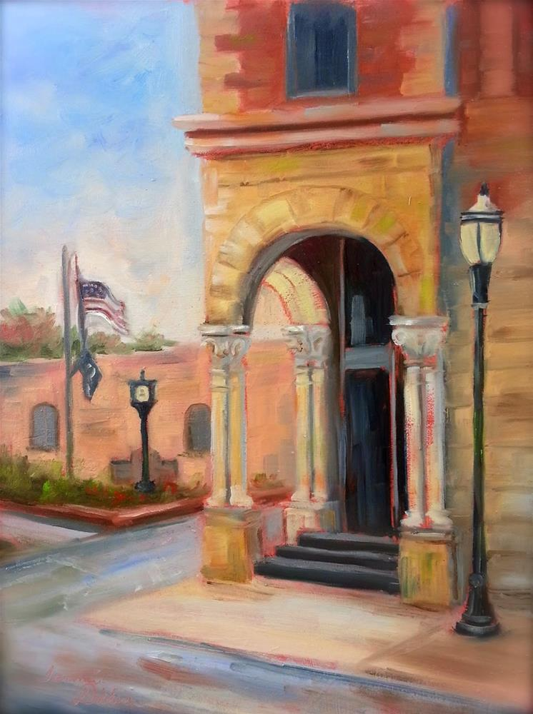 """First Impressions of Fairfield"" original fine art by Tammie Dickerson"