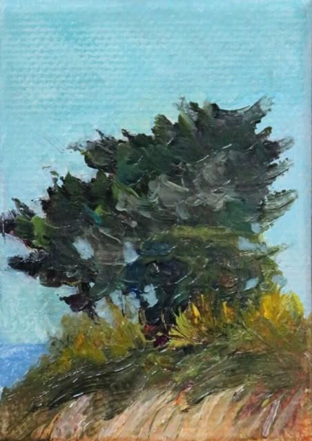 """Lyrical Limbs"" original fine art by Sharon Lewis"