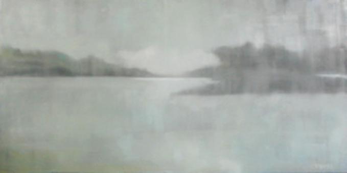"""Daylight Fog"" original fine art by Donna Thomas"