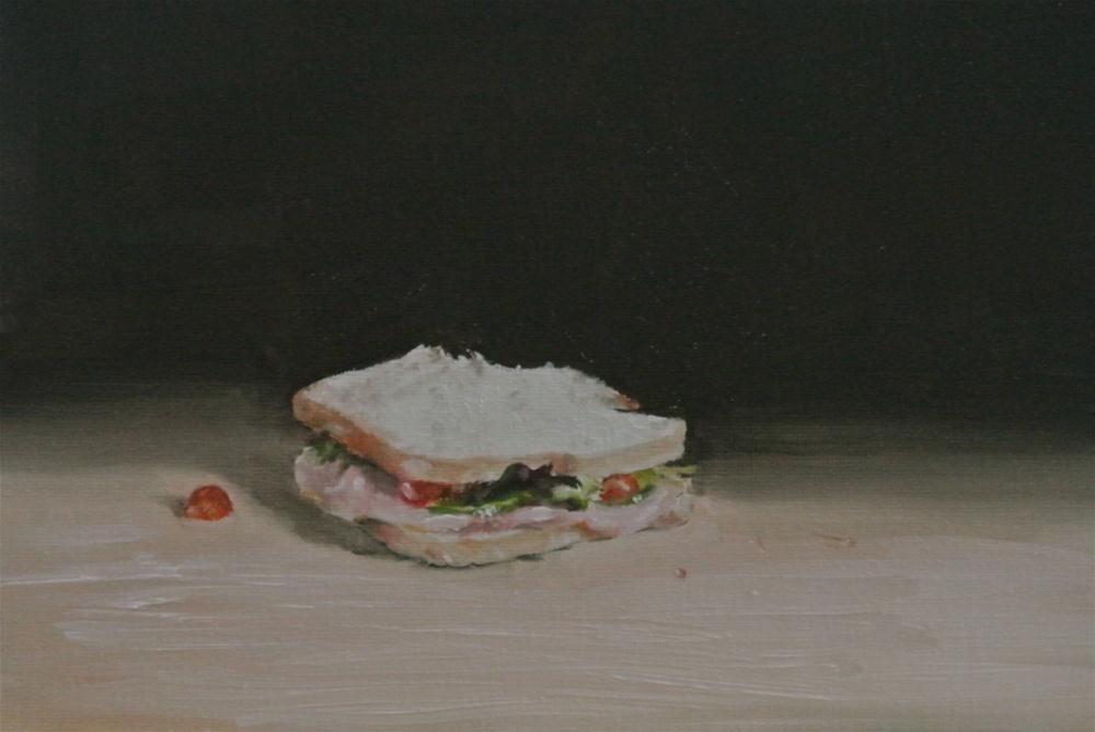 """Sandwich"" original fine art by James Coates"