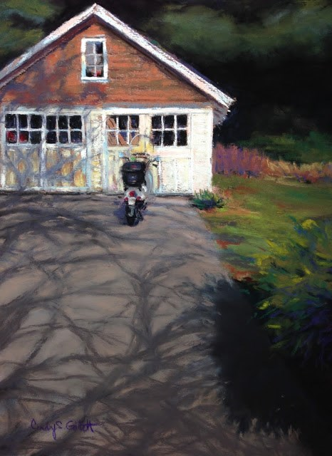 """North End Morning"" original fine art by Cindy Gillett"