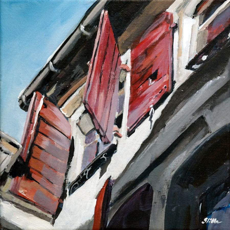 """1525 Top Window"" original fine art by Dietmar Stiller"